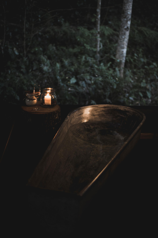 Nightfall Glamping Bath