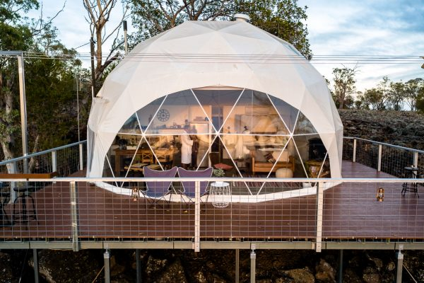 Faraway Domes | This geodesic dome is a luxurious off-grid Australian outback oasis