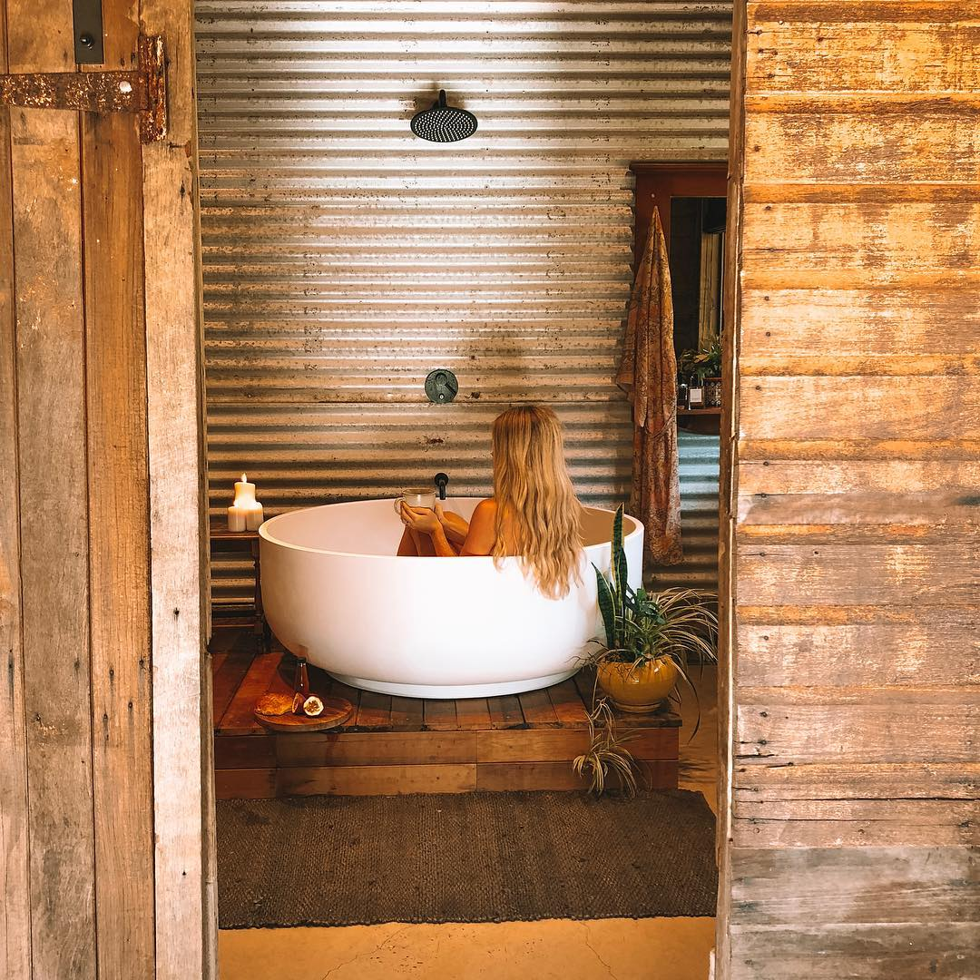 The Old Dairy Tweed Coast | Bathtubs worth travelling for
