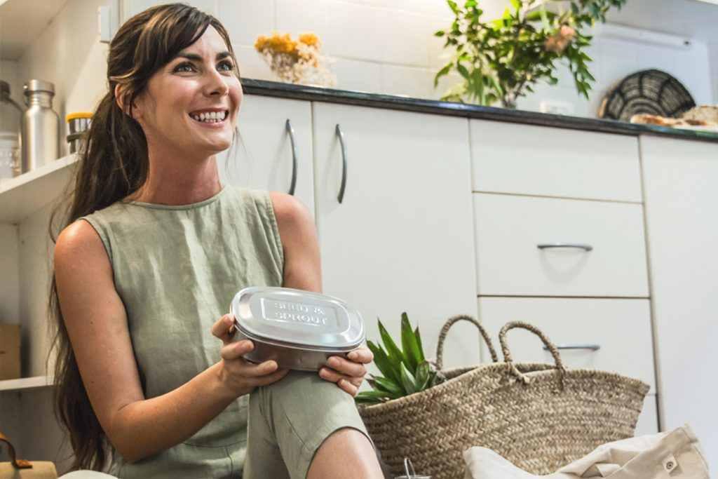 Sophie Kovic from Seed & Sprout wants to help you live plastic free