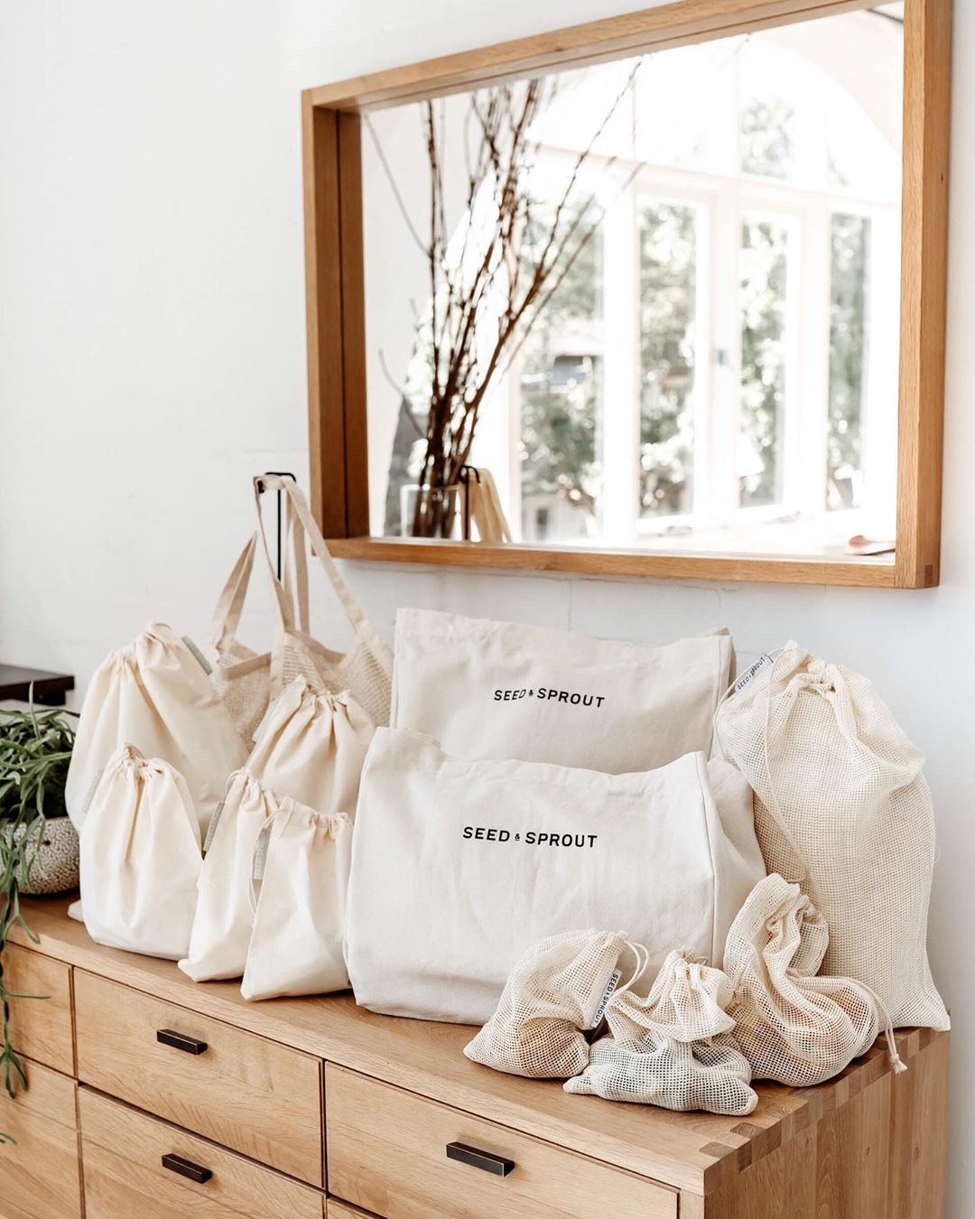 Seed and Sprout plastic free bags