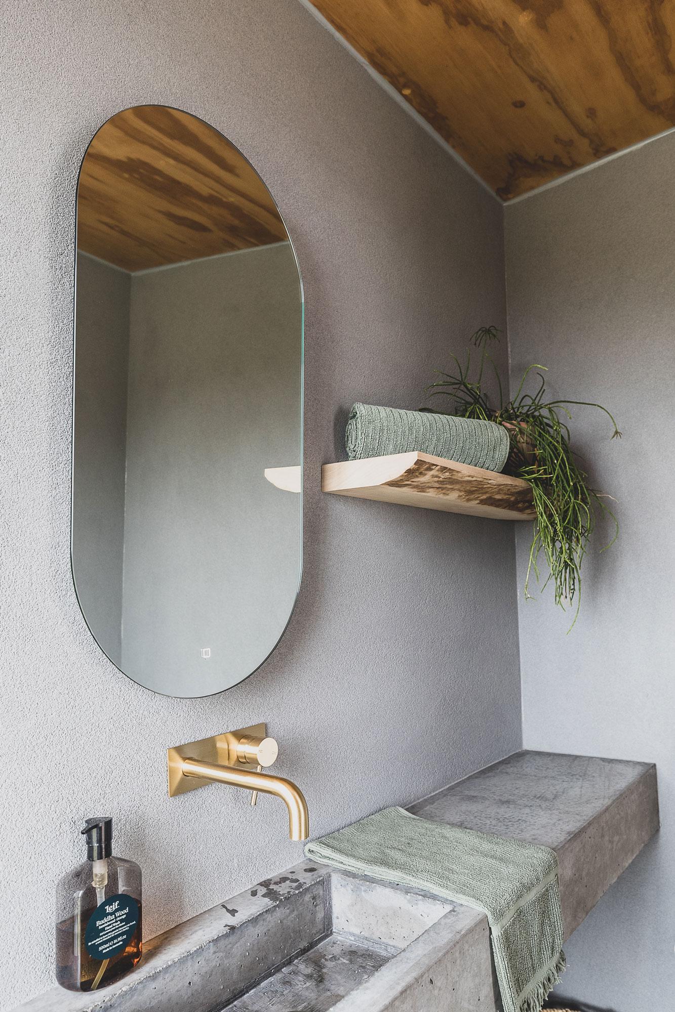 Bathroom at The Camp, Yelgun, Byron Bay