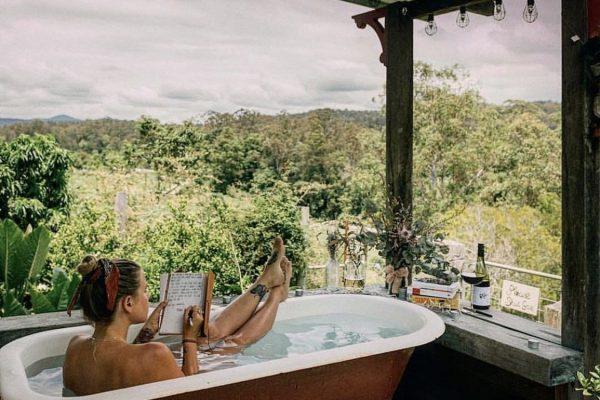 Bellingen Farm House bath