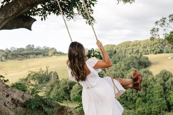 Heartwood Farm Byron Bay swing