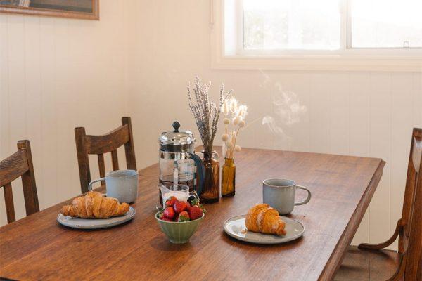 Heartwood Farm Byron Bay dining table