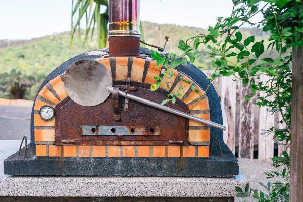 Mayan Luxe Villas pizza oven