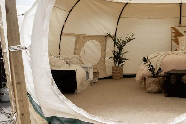 River Belle Glamping, 100% off the grid.