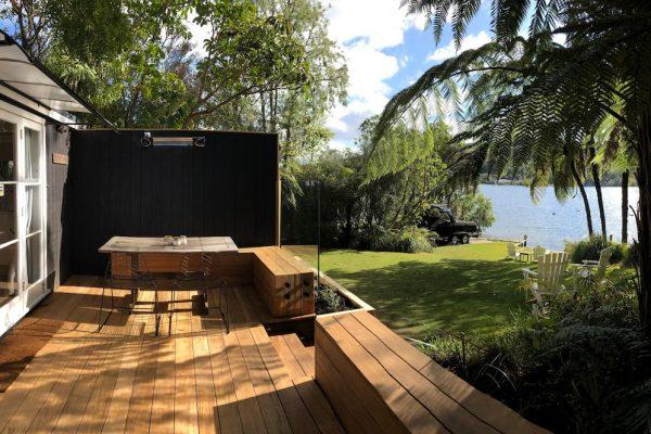The Love Shack Lake Rotoiti. Lake Edge Cottage.