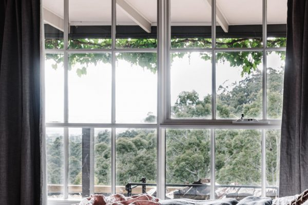 The Ridge House windows